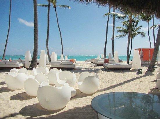 Paradisus Punta Cana: Vue du buffet Gabi Beach