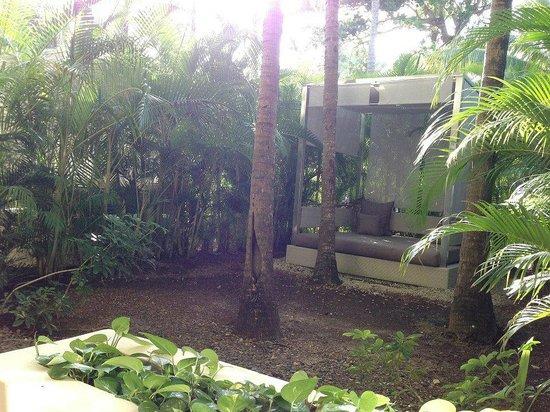 Paradisus Punta Cana Resort: Cours privée de notre chambre