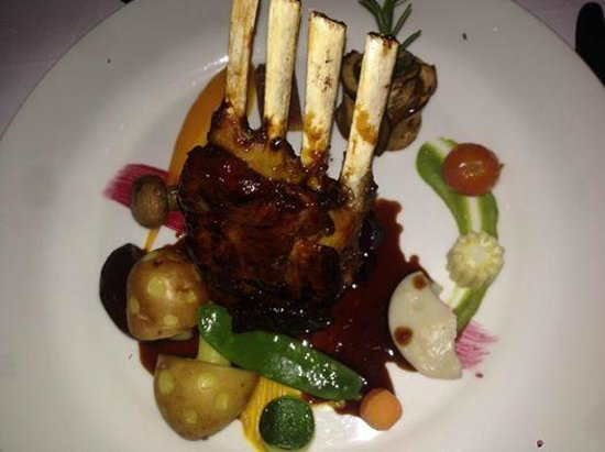 Pango Brasserie at the Fairview: Delious rack of lamb