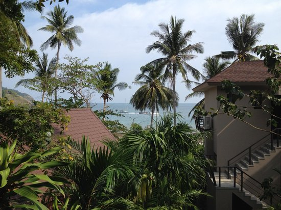 Anda Lanta Resort: The sea view from room 506