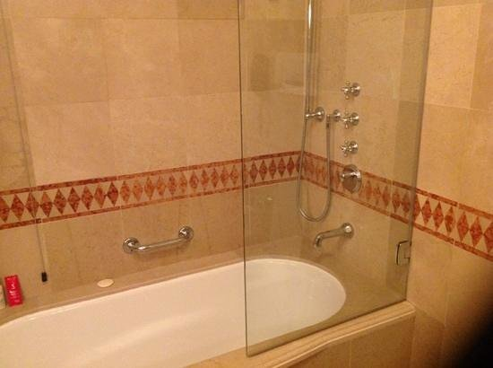 The St. Regis Florence: Who Designs A Shower Like This?