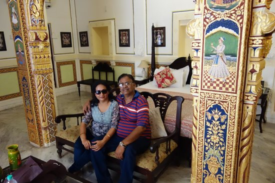 Pal Haveli: Rooms are furnished tastefully