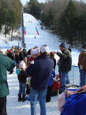 Salisbury Winter Sports Assn Jumpfest: jumping