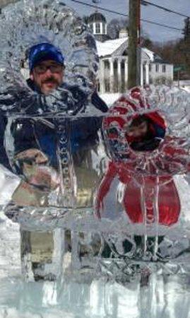 Salisbury Winter Sports Assn Jumpfest: ice