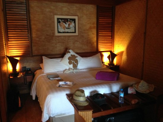 InterContinental Moorea Resort & Spa: LA CHAMBRE