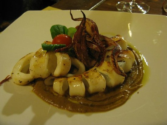 Il Baro : Grilled cuttlefish
