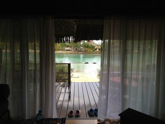 InterContinental Moorea Resort & Spa : VUE SUR LE LAGON