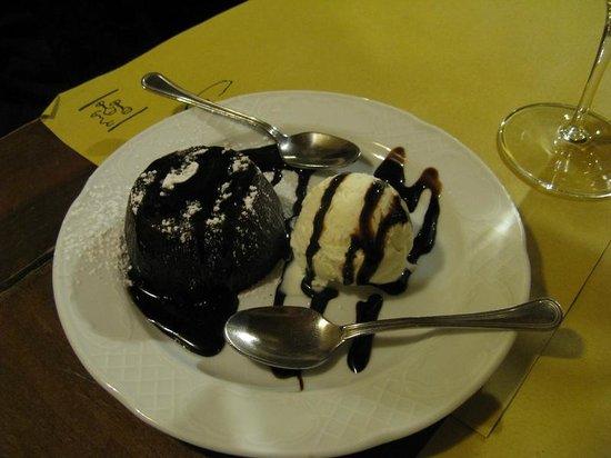 Il Baro: Tortino al cioccolato