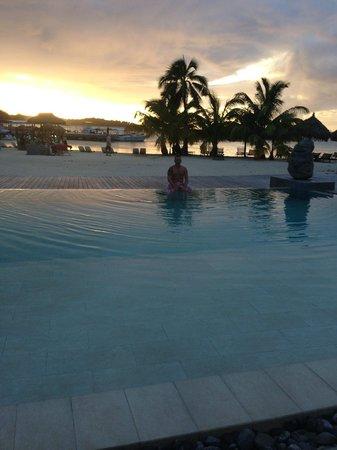 InterContinental Moorea Resort & Spa : COUCHE DE SOLEIL