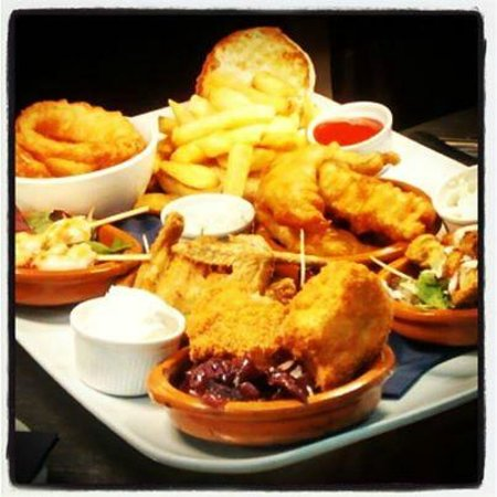 The Crown Inn: A selection of Tapas