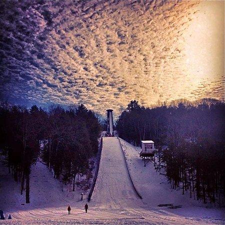 Salisbury Winter Sports Assn Jumpfest: jump clouds