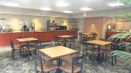Best Western Tallahassee-Downtown Inn & Suites: BREAKFAST