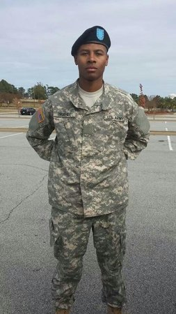 Fairfield Inn & Suites Columbia Northeast: This is my handsome son. Fort Jackson family day.