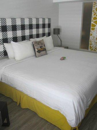 Burasari Resort: The bed
