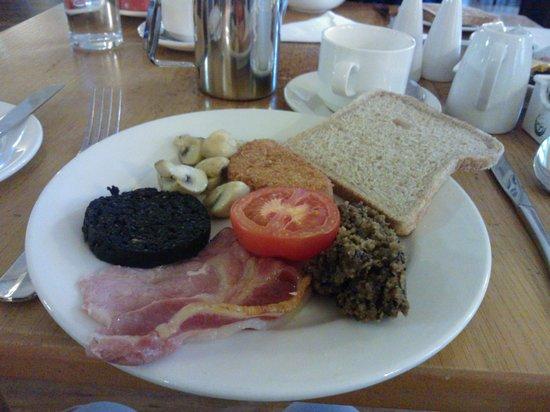 The Old Waverley Hotel : Desayuno escocés