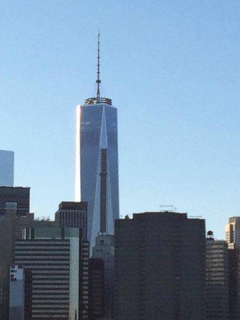 One World Trade and Manhattan Skyline