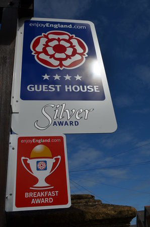 Dorchester Guest House: New Awards for 2014