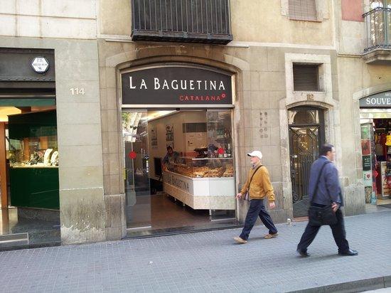La Baguetina : Entrée