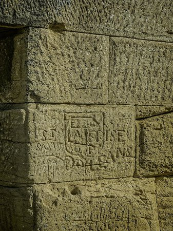 19th century French engineers used to visit the Pont du Gard and leave graffiti