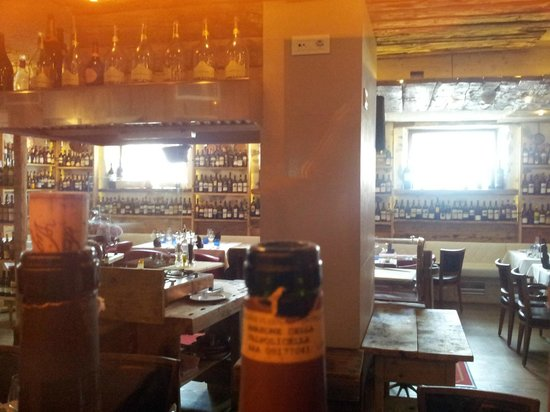 Bivio Bistrot: Zona ristorante (vista laterale)