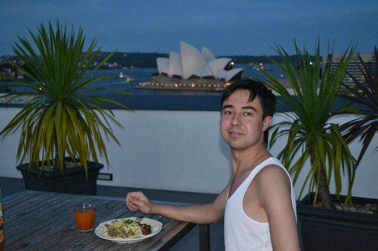 Sydney Harbour YHA: Вид с террасы