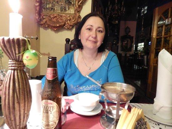 Restauracja Gdanska: Польский журек с грибами-очень вкусно!