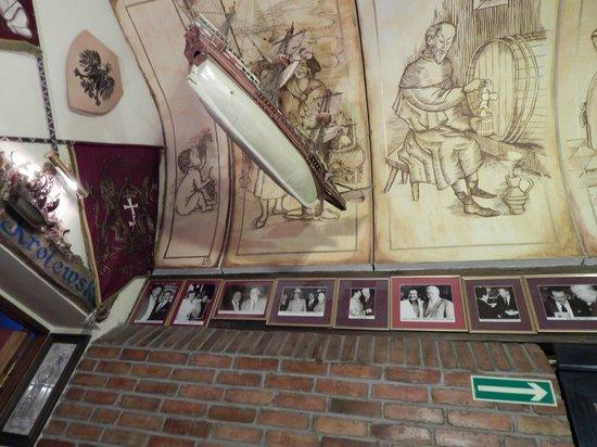 Restauracja Gdanska: Фотографии знаменитостей посетивших этот ресторан
