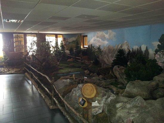 Latteria di Livigno: Diorama alpino 1