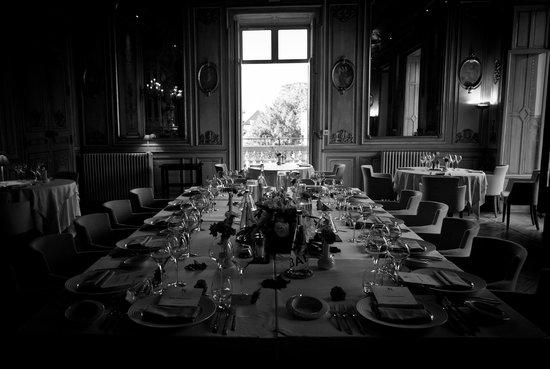 Château de Cîteaux La Cueillette : La salle de restaurant