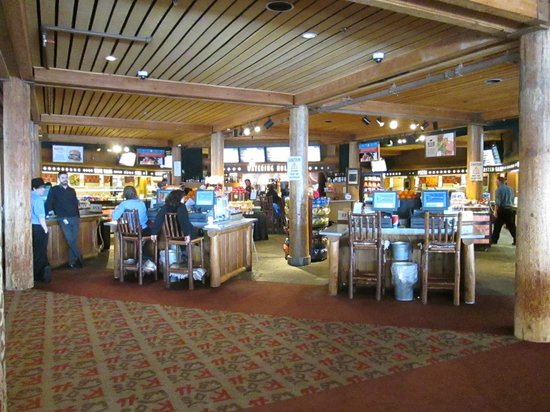 Beaver Creek Ski Area: Early morning, before the rush, at the self-service mid-mountain restaurant