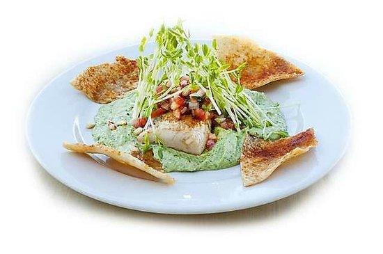 Pita Jungle : Mahi-Mahi with Pita Chips