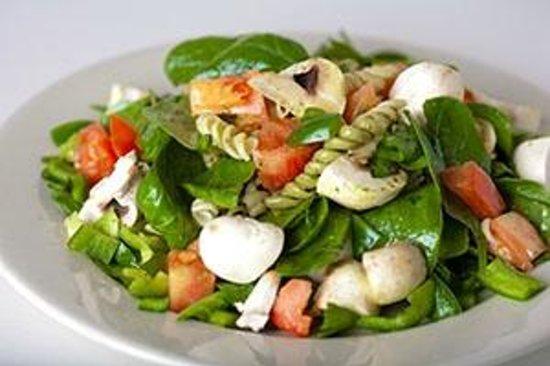 Pita Jungle : Spinach Pasta Salad