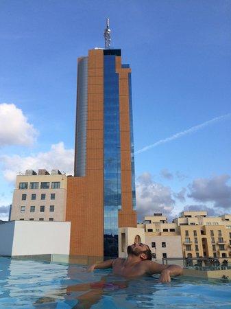 Hotel Valentina: Piscina al sesto piano