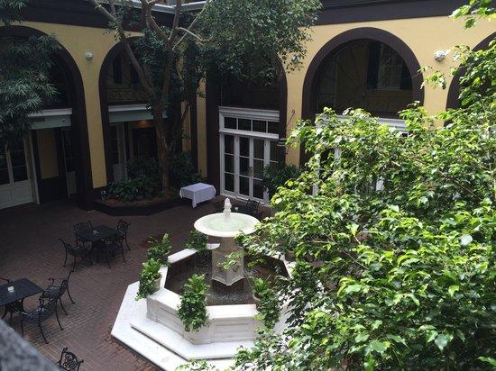 Hotel Mazarin : Courtyard from 2nd floor