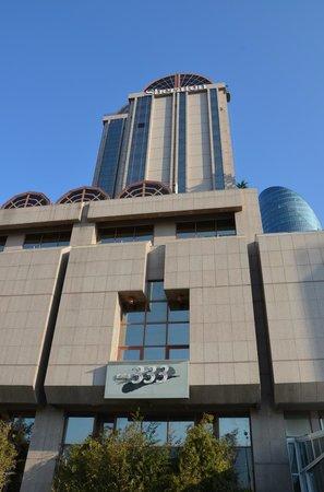 Steigenberger Hotel Maslak Istanbul: Facade de l'hôtel