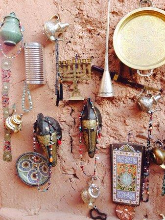 Casbah d'Aït-ben-Haddou : Inside market