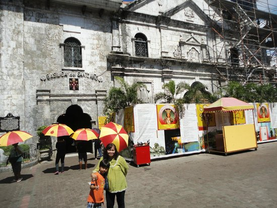 Basilica del Santo Nino: The Basilica needed major repairs after it was hit by an earthquake in 2013