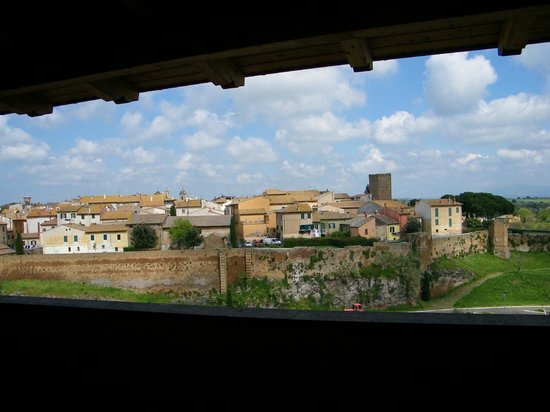 Hotel Tuscania Panoramico: panorama dalla camera