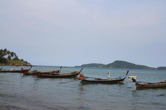 Rawai Beach: Лодки рыбаков