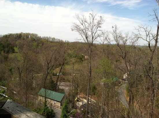 Smoky Mountain Resort, Lodging, & Conference Center: The view from chalet 6