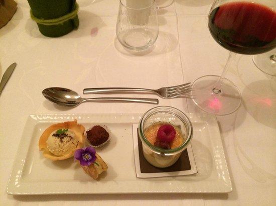 Hotel Bergland: heerlijke gerechtjes