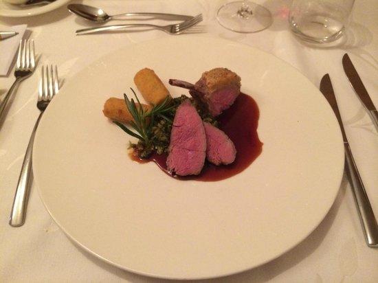 Hotel Bergland: fantastisch lamsvlees!