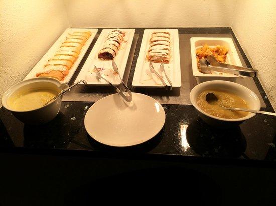 Hotel Bergland: buffet