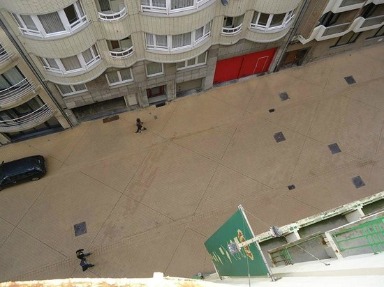 Royal Astor Hotel : Vue du balcon