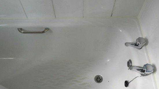 Harcourt Hotel : Dirty bath