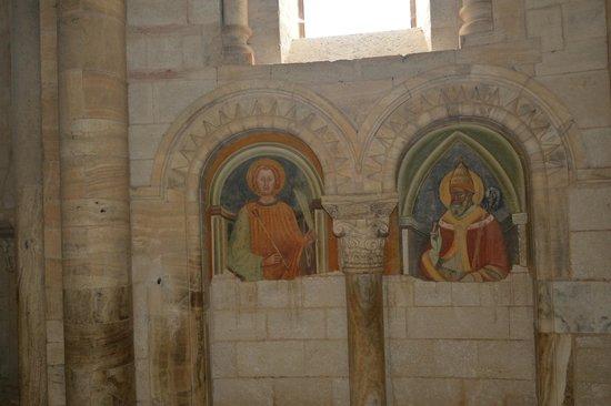 Abbazia di Sant'Antimo: affreschi romanici