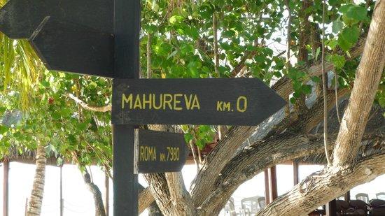 Mahureva: al centro dell'isola