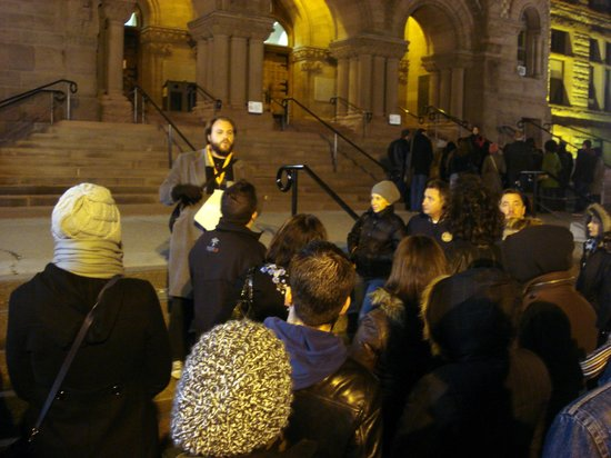 Tour Guys: Tour Guy Steve talks about hauntings and ghosts at Old City Hall