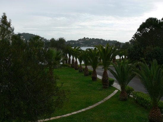 Govino Bay Corfu: View from our upperstair apartment
