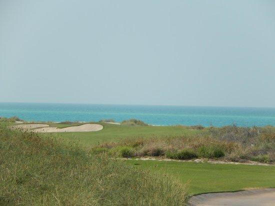 Saadiyat Beach Golf Club: Ocean views